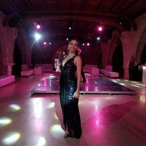 Rachel Zoe Black Sequin Dress